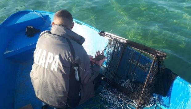 При рутинна проверка преди няколко дни във водите на Черно
