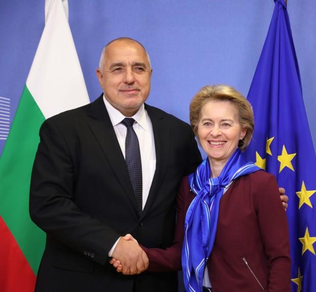 Министър-председателят се срещна с председателя на Европейската комисия Урсула фон