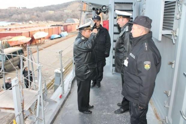 На 9-ти февруари 2009 г. във военноморска база Зеебрюге, Кралство