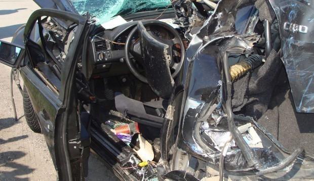 ИлюстрацияПо-късно автомобилът е открит катастрофирал в уличен стълб в селото.