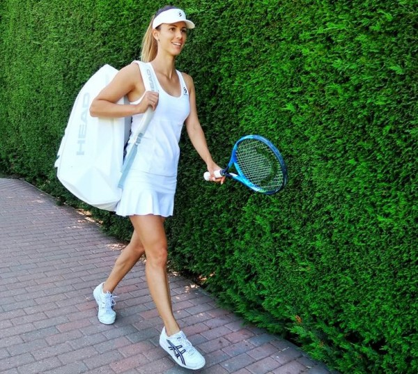Най-добрата българска тенисистка за последното десетилетие Цветана Пиронкова зарадва хилядите