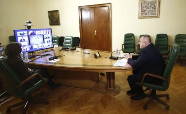 Започна участието на премиера Бойко Борисов в заседанието на Европейския