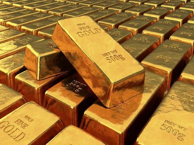 Цената на златото тази сутрин се понижи, след като инвеститорите