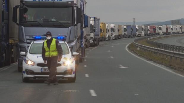 bTVСигнал за верижна катастрофа на 66 км на АМ