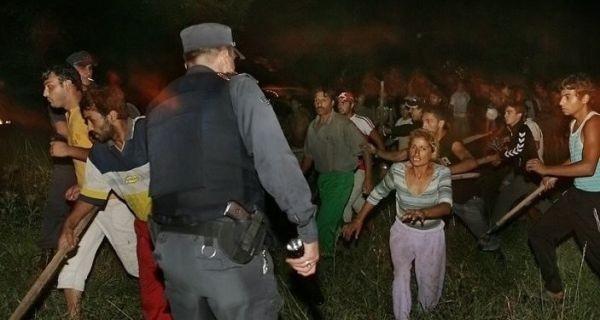 > Жена разпали масов бой в ромската махала на Благоевград