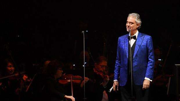 Getty imagesСветовноизвестният италиански певец Андреа Бочели ще изнесе концерт на