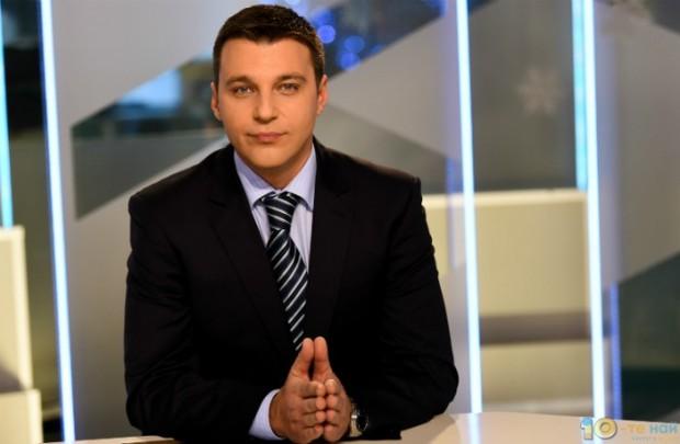 Водещият на новините на Нова тв, Христо Калоферов, стана татко,