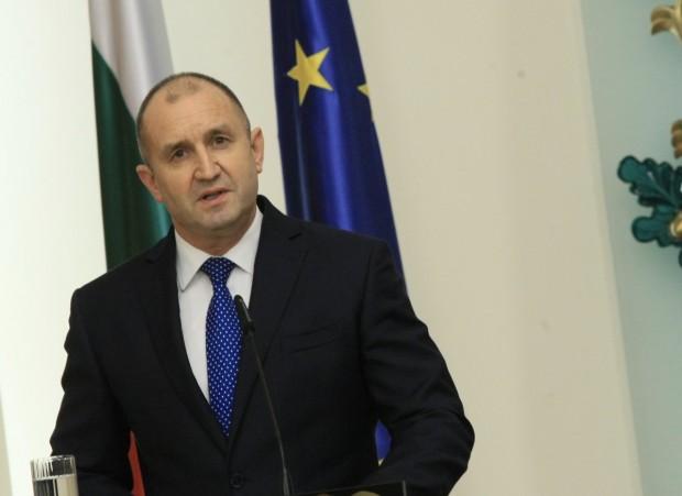 Президентът Румен Радев изразява съболезнования на семейството, близките и колегите