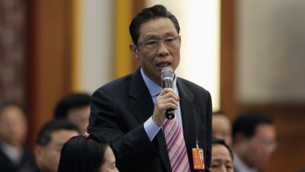 Китайският епидемиолог и пулмолог Чжун Наншан, ръководител на специалната комисия