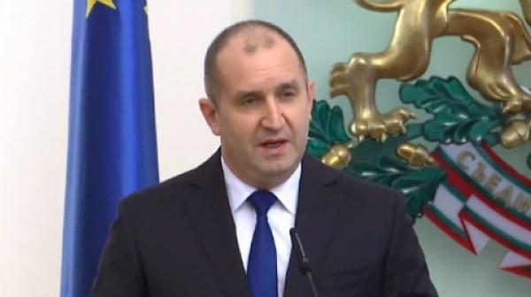 Държавният глава Румен Радев се срещна с представители на Националната