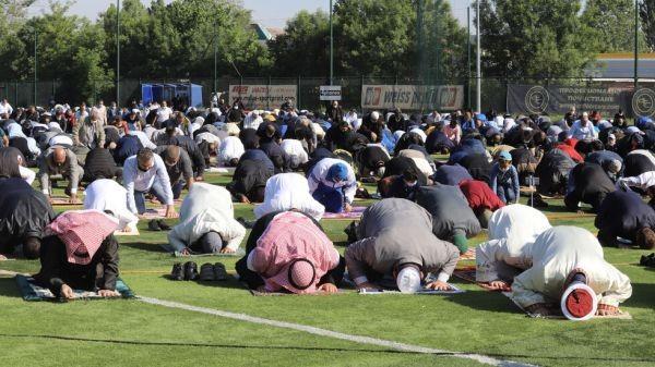 БГНЕСЗа първи път мюсюлманската общност в София се събра на