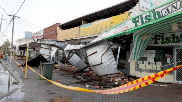 ЕПА/БГНЕСЗападна Австралия беше ударена от най-жестоката буря от 10 години