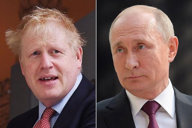 БГНЕСБорис Джонсън покани Владимир Путин на конференция за ваксина срещу