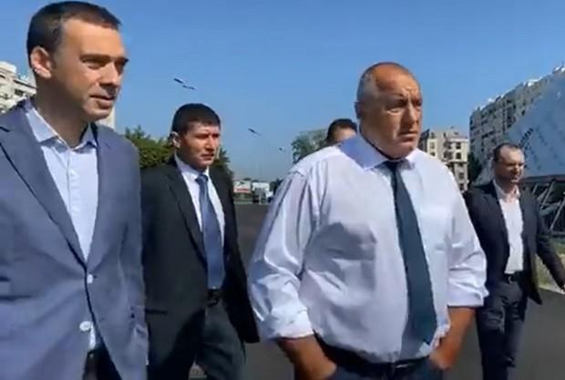 Зам.-министър на околната среда Красимир Живков, който бе задържан зарадиучастие