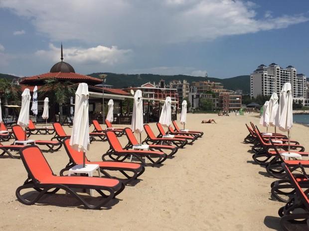 Трите плажни ивици в Слънчев бряг – северна, централна и