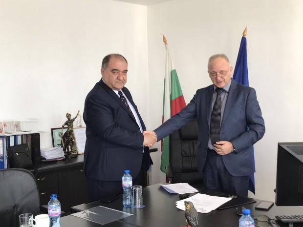 Апелативният прокурор на Варна връчи акта за встъпване в длъжност
