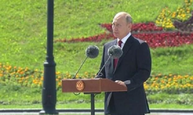 БГНЕС/EPAРуският президент Владимир Путин днес за първи път от повече