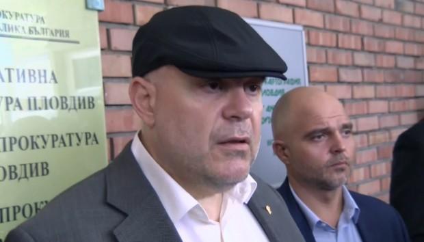 Иван Гешев по повод задържаните висши служители в ГДБОП.