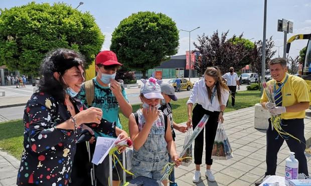 Дългоочакван първи чартърен полет, организиран отTEZ TOUR Българияс 94 туристи