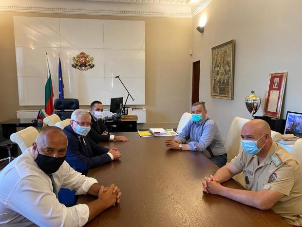 Министър-председателят Бойко Борисов проведе работна среща с Националния оперативен щаб,