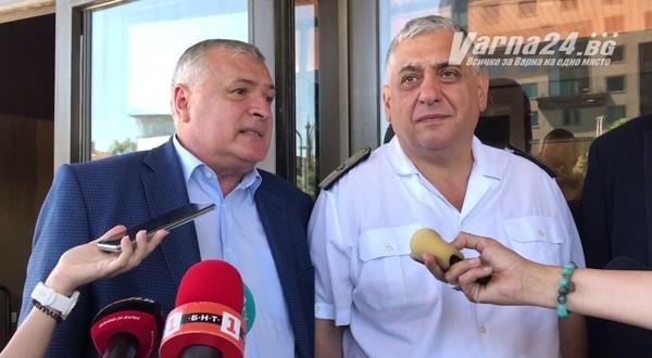 Томислав Дончев, заместник министър-председател на България.Домакин на среща на тема