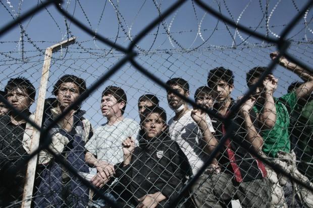 > ИлюстрацияГрупата мигранти е настанена в СДВНЧ Любимец. Образувани са