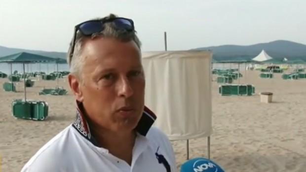 Нова твЛетовник обяви, че не е допуснат до плажа на