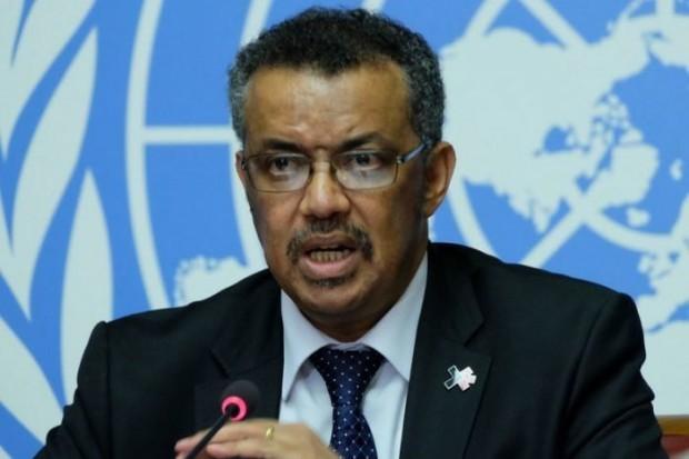 Ръководителят на Световната здравна организация (СЗО) Тедрос Адханом Гебрейесус заяви,