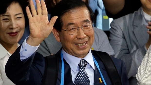 Кметът на Сеул, претендент за следващ президент на Южна Корея