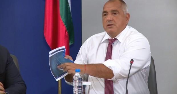 Министър-председателят Бойко Борисов, министърът на транспорта, информационните технологии и съобщенията