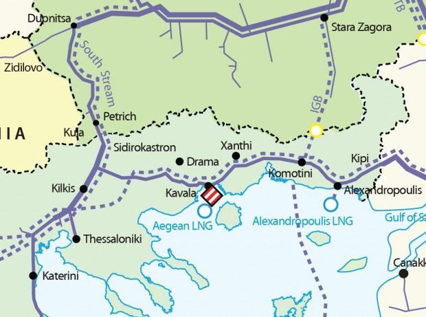 Газопроводът България - Гърция е гръмнал в района на