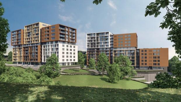 Новият жилищен комплекс на