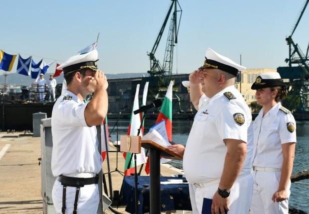 На 10.07.1958 г. със заповед №00169 на командващия Военноморски флот