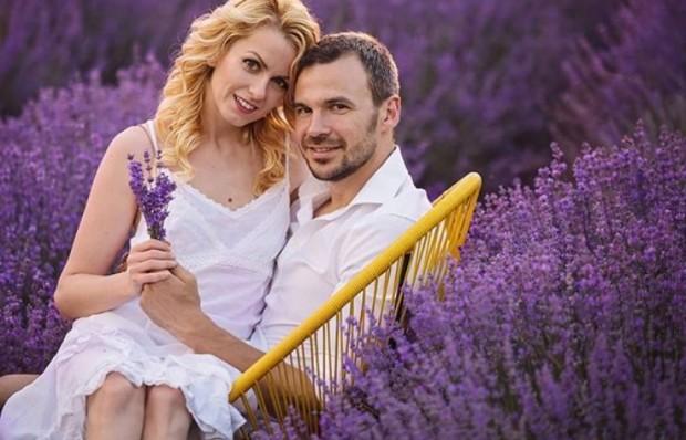 ИнстаграмАктьорът Ивайло Захариев, чието семейство се разпадна преди около година,