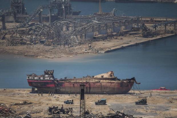 Корабът за генерални товари RHOSUS (IMO: 8630344), превозил катастрофалния товар