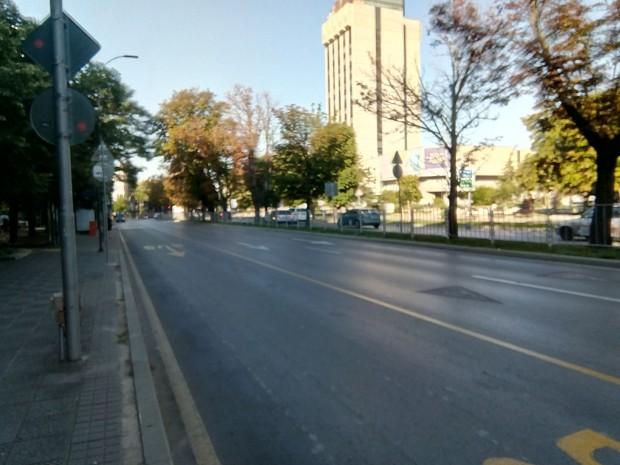 Движението е възстановено, както и обичайният маршрут на автобусите в