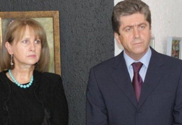 Съпругата на Георги Първанов – Зорка, е навършила необходимата пенсионна