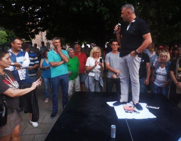 35-ят ден на протеста отново събра огромно множество граждани, недоволни