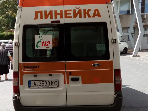 От пътния инцидент е пострадала пътуващата на задната седалка във