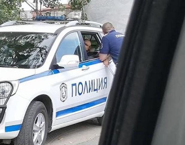ФейсбукПевицата Милена Славова е била спряна от полицаи и глобена