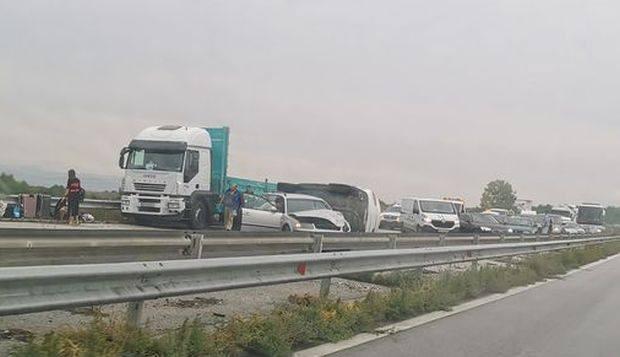 Varna24.bgОгромно задръстване има към този час на магистрала